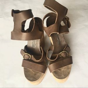 Pedro Garcia platform heels